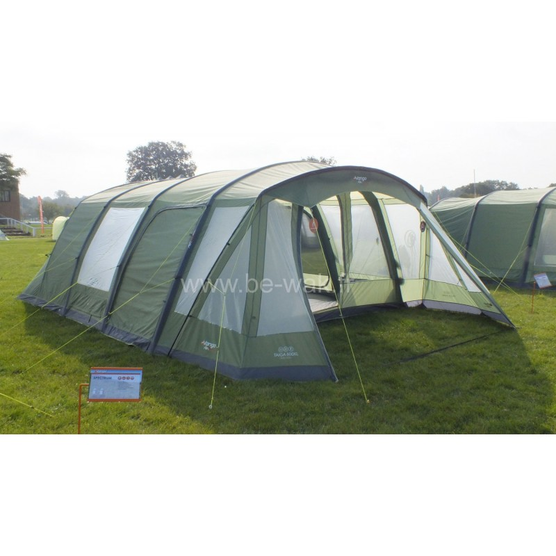 Vango Odyssey Inflatable Family Tunnel Tent Epsom Green Airbeam 600sc