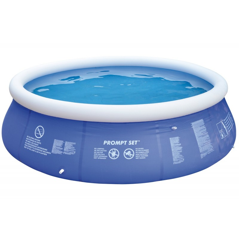 Jilong marin 450 x 76 cm bleue bewak sp cialiste de la for Piscine gonflable ronde