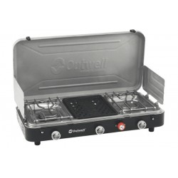 Outwell Chef Cooker Premium 2 Feux + 1 Grill