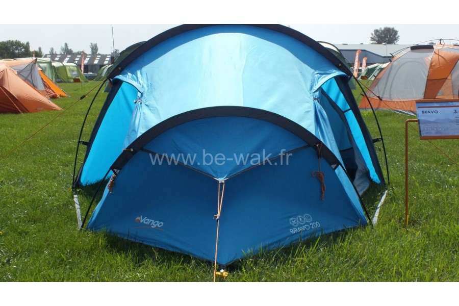 Display all pictures & Vango Bravo 300 Blue - Bewak is specialised in camping tents ...