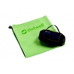 Outwell Micro Pack Towel L Green