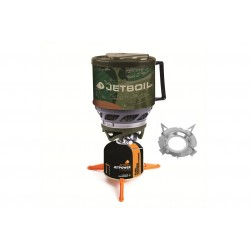 Réchaud Jetboil Minimo Camo + Support