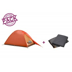 Pack Vaude Campo Compact 2P Terracotta