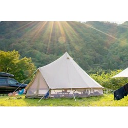 Tente tipi CanvasCamp Sibley 500 Protech