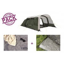 Pack tente + tapis Outwell Greenwood 6