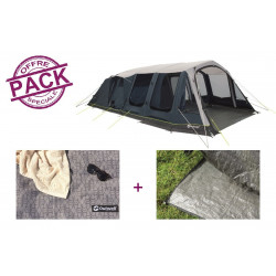 Pack tente + tapis Outwell Knoxville 7SA